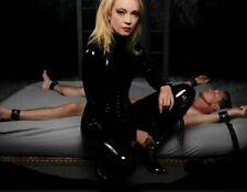 Mistress Isabella Sinclaire Leather Bed Restraint Kit Bondage Handcuffs Free S&H