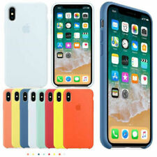 Original Silicone Case For Apple iPhone XS Max XR X 7 8Plus Genuine Luxury Cover