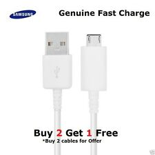 100%Genuine Samsung Galaxy S6, Edge S7 Note 5/4 Fast Charger USB Data Cable Lead