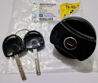 Astra Barina Vectra Combo most NOS NEW Genuine Locking Fuel Cap & Keys 93179273