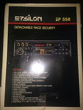 epsilon electronics 558 car stereo