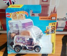 COCHE HOT WHEELS ROLLER TOASTER TOSTADORA COLOR PLATA FAST FOODIE HOTWHEELS.2018