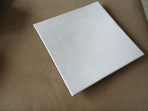 ASA Sevierplatte sehr groß weiß Porzellan Vitrinenobjekt