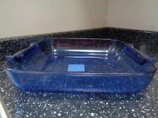 More details for pyrex cobalt blue large roaster
