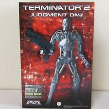 Terminator 2 Judgment Day T-800 Endo Skeleton 1/6 Diecast w/AR-18 Aoshima Japan