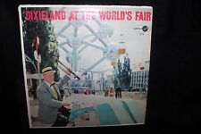 Worlds Fair Brussels,Belgium 1958 Dixieland At The World's Fair LP Record NICE