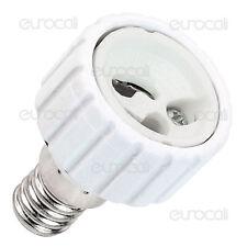 Adattatore Convertitore Riduzione Lampade Portalampade LED Life da E14 a Gu10