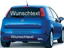20 cm Wunschtext Aufkleber für Auto oder Schaufenster LKW Motorrad Domain