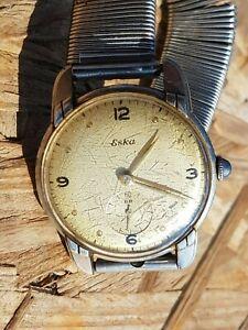 Montre Eska Swiss à réparer vintage Watch to repair