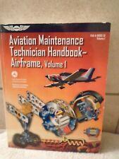 FAA Handbooks: Aviation Maintenance Technician Handbook-Airframe Vol. 1 by Feder