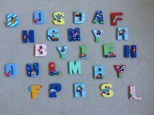 27 lettere maiuscole in legno-personalizzare Muro O Porta Con Nome