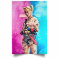 Birds Of Prey Harley Quinn 2020 Movie Poster Wall Art Print High Quality
