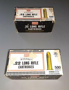Vintage High Speed 22 Long Rifle Remington Thunderbolt EMPTY Ammo Box EMPTY