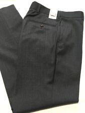 """New M&S Men's Slim Fit 100% Wool Trousers Size W 28"""" Inside Leg 35"""""""