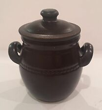 Chili Jar Spice Jar Vintage Brown stoneware 'OSLO' cannisters. Korea.apr-250 Ml