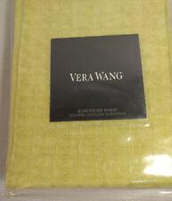 """New Vera Wang Home European 26""""x26"""" Pillow Sham Chartruse MSRP=$195"""