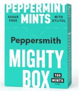 Peppersmith Gum + Mints Mighty Box 18 x 50g Packungen LAGERABVERKAUF