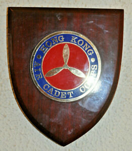 Hong Kong Air Cadet Corps plaque crest shield 香港航空青年團