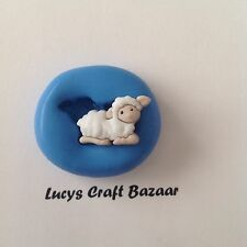 Silicone Mould Xmas Nativity Lamb Fondant Sugarcraft Cake Pop Topper Sculpey Ice