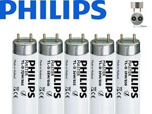 Philips T8 Fluorescent Tube 2ft 3ft 4ft 5ft 6ft Warm, Standard, Cool & Daylight