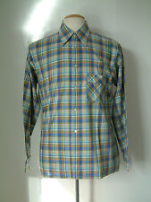 1950'S SHIRT BY MERITUS..MADE IN GREAT BRITAIN..DAGGER COLLAR..L..NEW OLD STOCK