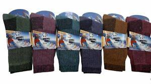 Womens Merino Wool Blend  Ladies Hiking Boot Thermal Winter Socks  uk size 4-7