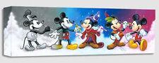 "Disney Fine Art  ""MICKEY'S CREATIVE JOURNEY"" size: 8 X 24 |Giclee Canvas |"