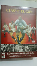 CLASSIC RUGBY DVD BOX SET - OFFICIAL HISTORY OF ENGLISH RUGBY - BRAND NEW SEALED
