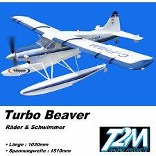 T2M Turbo Beaver ARF Brushless Transport Flugzeug Schwimmer + Räder Licht T4516