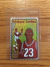 1985 N.B.P.A. Michael Jordan Rookie RC Prism Jewel Vending Machine Sticker Card