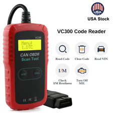 VC300 Car Auto OBD2 Scanner Code Reader Check Engine Fault Diagnostic Tool US