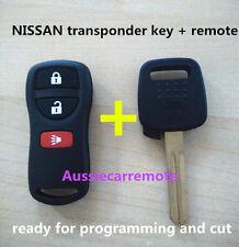 NISSAN skyline Pulsar Patrol Navara Xtrail remote and key 180SX S14 200 SILVIA