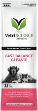 New listing VetriScience Laboratories Fast Balance Gi Paste Gastro Intestinal Dogs Cats 35Cc
