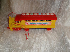 MELODY CHOO CHOO Xylophone train - pull train for music or push notes on top