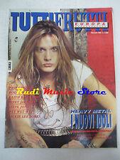 rivista TUTTIFRUTTI 88/1990 Phil Collins Keith Richards Skid Row R.Stewart No cd