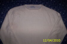 CHRISTIAN DIOR PULLOVER C NECK SWEATER Offwhite MENS Lg