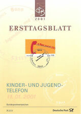 ETB RFA 2001 NUMERO DE TELEPHONE YT 1996
