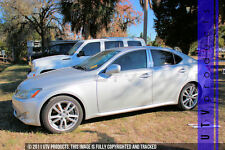 GTG 2006 - 2013 Lexus IS250 / IS350 4dr 6PC Chrome Stainless Steel Pillars Posts