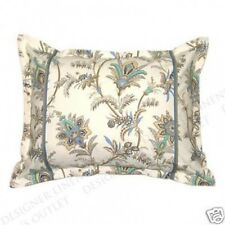 NIP LIZ CLAIBORNE OLIVIA MULTI FLORAL 1 STANDARD COTTON |PILLOW SHAMS