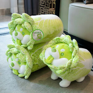 Vegetable Wizard Cabbage Dog Doll Plush Doll Girl Pillow Gift Caigou