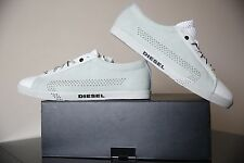 Diesel Bikkren Hombres Zapatos Blanco/Gris vaporious UK 11 EUR 45