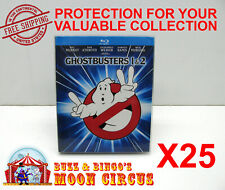 25X BLU-RAY DIGIBOOK MOVIE - SIZE B - CLEAR PLASTIC PROTECTIVE BOX PROTECTOR