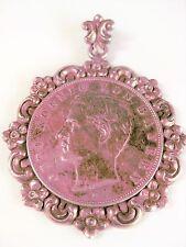Antiker Münzanhänger Echtsilber, 26,06 g