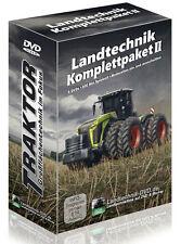 Landtechnik Komplettpaket 2 DVD Agritechnica Traktor Mähdrescher Maisernte