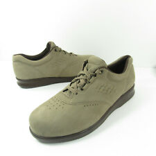 SAS Freetime Women's Suede Leather Oxford Comfort Walking Shoes Size 10 Wide
