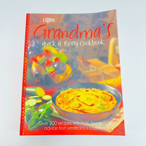 Grandma's Quick & Thrifty Cookbook by Reader's Digest Paperback Book Free Post