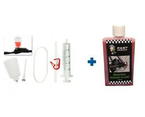 Bicycle Hydraulic Brake Bleed Kit – Shimano - Includes 100ml Mineral Oil
