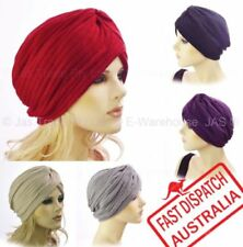 Acrylic Turban Hats for Women