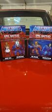 Masters Of The Universe  2-pack Epic Battles, Hordak/she Ra, He-Man/Skelly