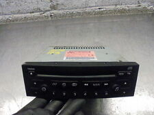 (ref.179) 05 Peugeot 206 Sport CD Player Stereo, Needs Coding 96565718XT